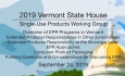 Vermont State House - Single-Use Products Working Group 9/24/19