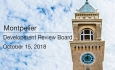 Montpelier Development Review Board - October 15, 2018