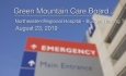 Green Mountain Care Board - Northeastern Regional Hospital Budget Hearing 8/23/19