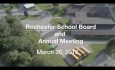 Rochester-Stockbridge Unified District - March 26, 2018 - Annual Meeting & School Board