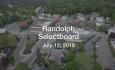 Randolph Selectboard - July 12, 2018
