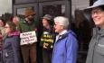 Poor People's Campaign - Pavilion Confrontation - 6/4/18
