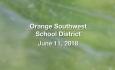 Orange Southwest Unified Union District - June 11, 2018