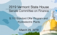 Vermont State House - S.170 Standard Offer Program and Hydroelectric Plants 3/29/19