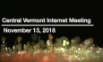 Central Vermont Internet - November 13, 2018 [CVI]