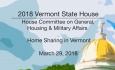 Vermont State House: Home Sharing in Vermont 3/29/18