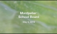 Montpelier School Board - May 2, 2018