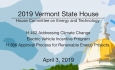 Vermont State House - H.462, Electric Vehicle Program, H.366 4/3/19
