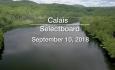 Calais Selectboard - September 10, 2018