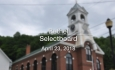 Bethel Selectboard - April 23, 2018