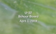 U-32 School Board - April 3, 2019