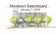 Moretown Select Board - January 7, 2019