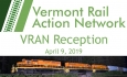Vermont Rail Action Network - VRAN Reception 4/9/19