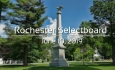 Rochester Selectboard - June 10, 2019