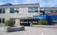 Washington Central Supervisory Union - Executive Committee Meeting 1/16/19