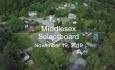 Middlesex Selectboard - November 19, 2019